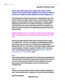 compare contrast essay alternating opposing