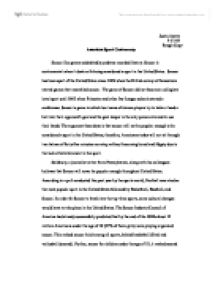 Essay About Sport  Santa Barbara Rutgers Essay American Sport Controversy  Soccer Like Games Undoubtedly Predates  Recorded History College English Essay Topics also High School Essay Sample  Get Work Online