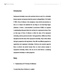 Related University Degree Employment Law essays