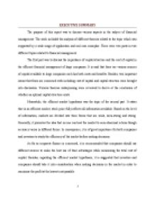 Financial Management Essay The Importance Of Capital Structure And  Page  Zoom In