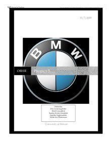 bmw case study questions