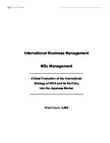 ikea strategic in action essay
