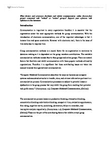 factors supporting and inhibiting communication Environmental factors   any factors which affect the senses can either support or hinder listening   communication  counseling  game design.