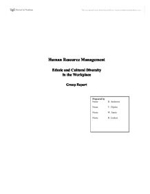 Argumentative Essay On Health Care Reform Human Resource Management  Ethnic And Cultural Diversity In The Workplace   University Business And Administrative Studies  Marked By Teacherscom Argumentative Essay Papers also Proposal Essay Example Human Resource Management  Ethnic And Cultural Diversity In The  Types Of English Essays