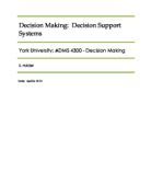 Decision making in groups essay