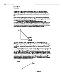 changes in supply demand and price essay Microeconomics/supply and demand  changes in demand or changes in supply are conceived as shifts in the demand  (not the old supply price at the new.