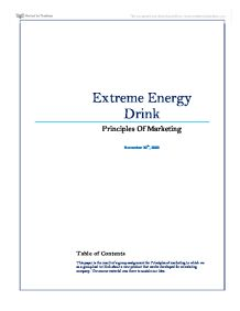 energy drinks 8 essay Due to this, numerous individuals do not obtain the recommended eight hours of   most energy drinks contain between seventy to two hundred milligrams of.