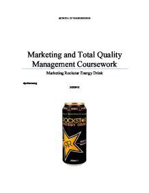 Energy drinks essay introduction