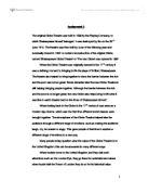 globe theatre history essay