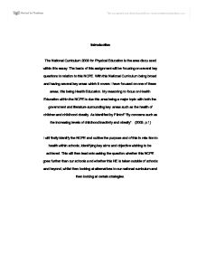 curriculum education essay