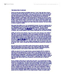 essay about paris in the iliad Review of the book iliad paris, an instigator of the if you are the original writer of this essay and no longer wish to have the essay published on the.