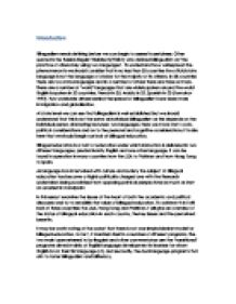 Bilingualism essay bilingual education in this essay i examine the bilingual education in this essay i examine the issues at the page 1 zoom in toneelgroepblik Image collections