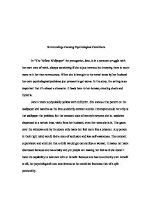 Thesis Statement Essay Example  English Is My Second Language Essay also Essay On Modern Science The Yellow Wallpaper Physcological Analysis   University  Example Of English Essay
