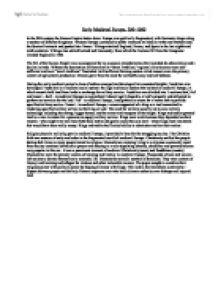 Medieval university essay