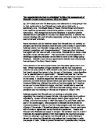 U.s history thematic essay