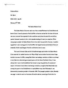 cuban missle crisis essay