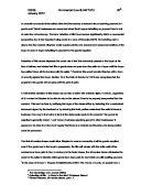 Reflected essay