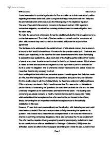 Non-assessed essay