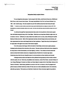 Criminal Justice 10 page research paper outline