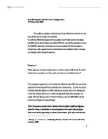 GDL EU Law Notes   Oxbridge Notes the United Kingdom