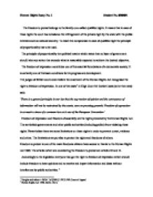 human rights essay dom to protest and extradition case  page 1 zoom in