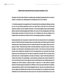 essay on the immortal soul by plato The soul consists of appetite, spirit and reason appetite that includes hunger, thirst and sex thumos or spirit which includes the ambition and strength of purpose and finally reason, being according to socrates the highest faculty of our material and immortal soul socrates begins, sensibly enough, declaring that the.