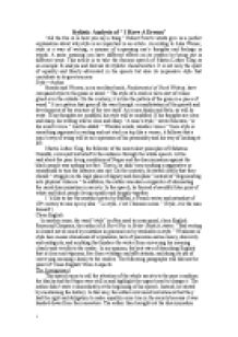 page 1 zoom in - I Have A Dream Essay Examples