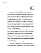 Creative writing essay on a place