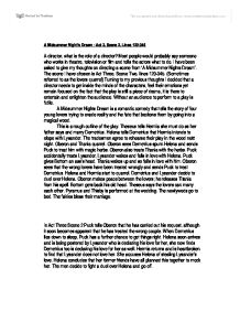 a midsummer night s dream act scene lines  page 1 zoom in