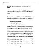 Soliloquy in hamlet essay about revenge