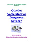 is othello really noble essays
