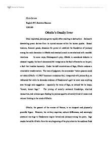 othello obsession essay