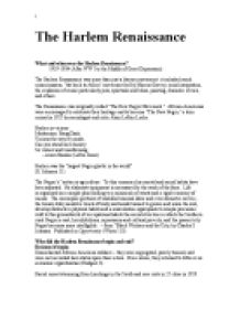 Renaissance literature research papers