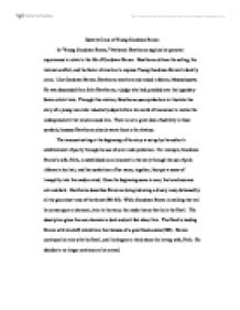 critical analysis of young goodman brown essay