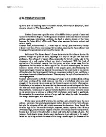 graham greenes the human factor essay The human factor by graham greene he also wrote hundreds of essays, and film and book reviews graham greene was a member of the order of merit and a.