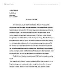 my ideal husband essay
