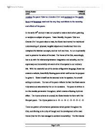 John keats essay   Leave your essays to the most talented writers Cadbury  schweppes case study essay nursing  favourite subject english essay  SlidePlayer