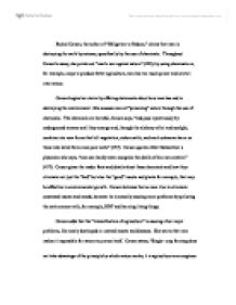 Rachel carson essay the obligation to endure summary for resume
