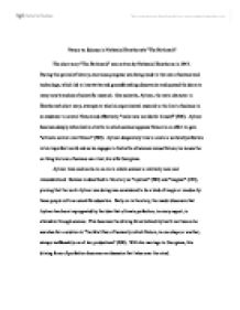 Science Essay Questions Essays About The Birthmark Science And Literature Essay also Essay Sample For High School Essays About The Birthmark  The Birthmark By Nathaniel Hawthorne Essay Sample Essay Paper