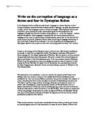 Shooting an Elephant Analysis - University Linguistics, Classics and ...