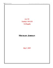page essay on michael  3 page essay on michael
