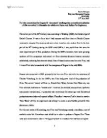 dogme 95 essay topics