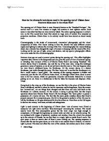 Essay about citizen kane rosebud