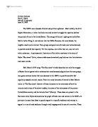 film studies essay gladiator university media studies  critical analysis of bob dylan s 1975 song amp quot the hurricane amp quot