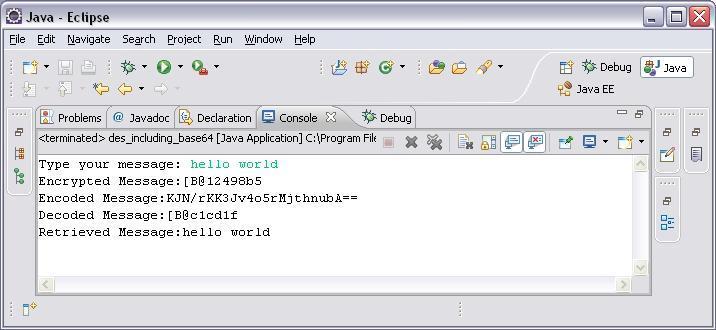 Message confidentiality, Encrypt/Decrypt an arbitrary