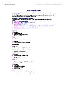 hypophosphatasia essay