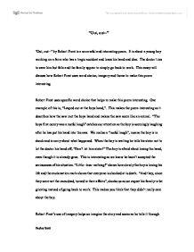 robert frost essay Teachit Jordan Thompson AP English Literature K  Saunders    February