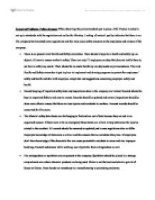 GMO Persuasive Essay Outline