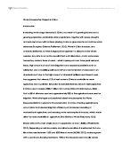 Homeostasis essay