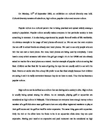 Good High School Essays Diversity Paper Essays Diversity Paper Essays Othello Essay Thesis also Thesis For Narrative Essay Diversity Paper Essays  Essays On Diversity Essays With Thesis Statements